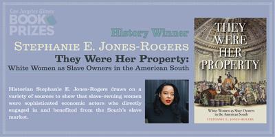 LA Times Book Awards announce Jones Rogers as Winner