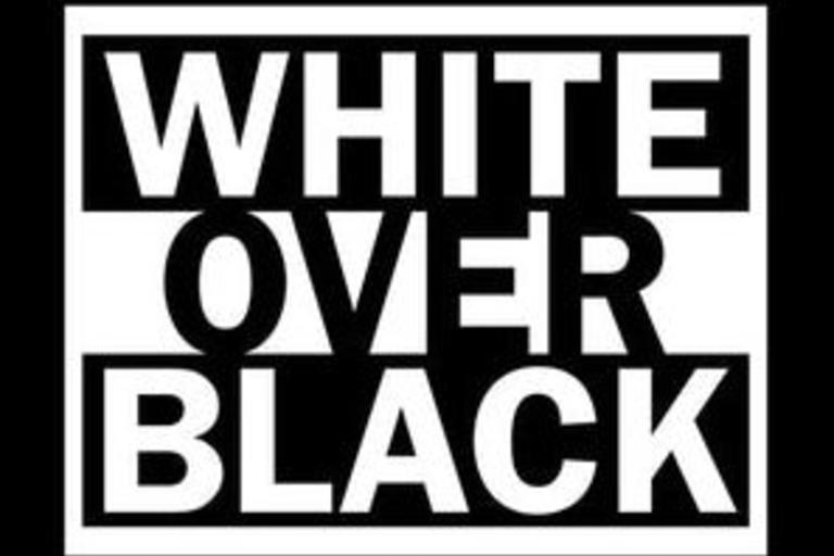 Book cover White Over Black