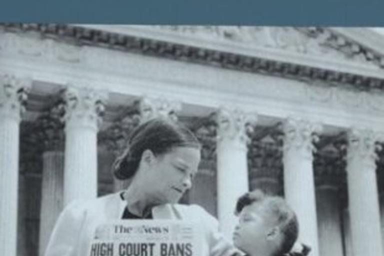 Book cover - Brown v. Board of Education, Martin