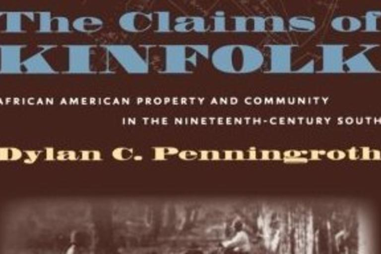 Book cover: The Claims of Kinfolk, Penningroth